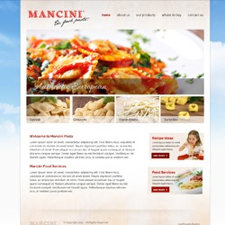 Mancini Pasta WordPress theme