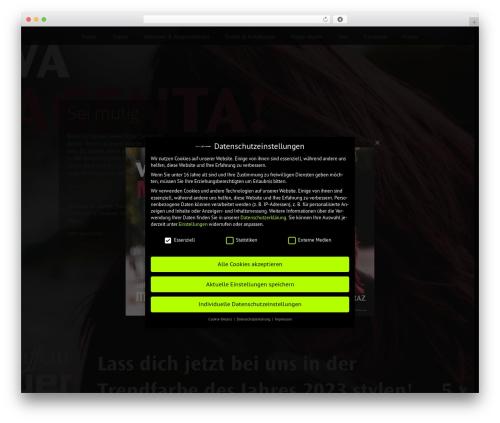 Mayer template WordPress - menschmayer.at