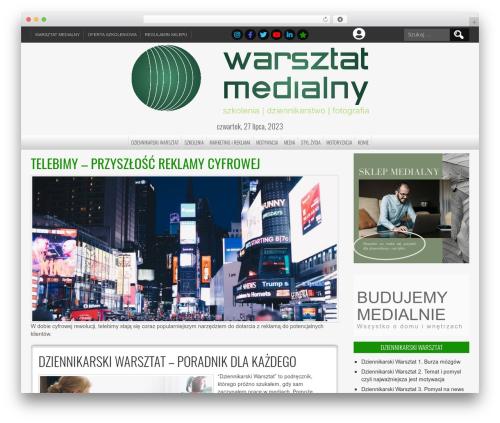 NewsPress Extend WordPress theme - medialnie.info