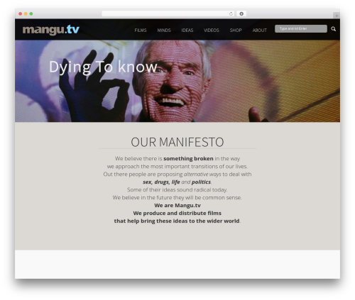 Free WordPress Advanced iFrame plugin - mangu.tv