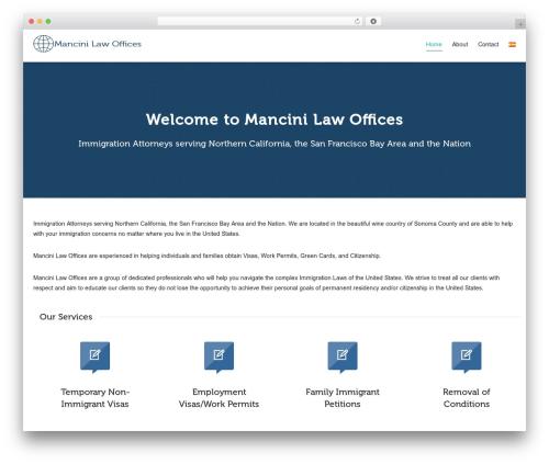 Free WordPress Polylang plugin - mancinilawoffices.com/en