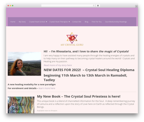 WP-Forge theme WordPress free - mycrystalguru.com