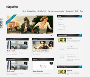 Amphion Lite WordPress theme