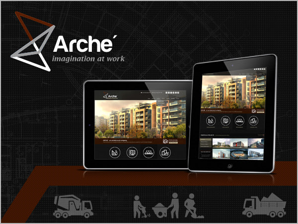 Arche WordPress template