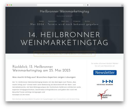 Astrid free WordPress theme - weinmarketingtag-heilbronn.de