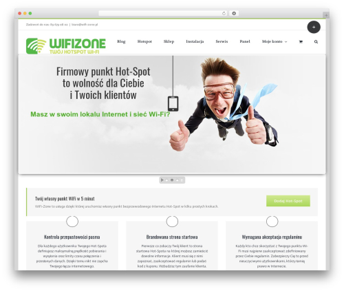 Avada WP template - wifi-zone.pl