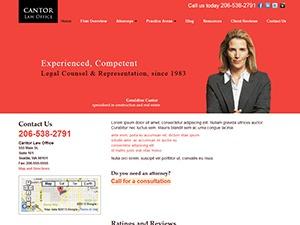 Avvo Websites Theme #4 top WordPress theme