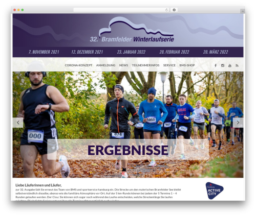 Best WordPress template BMS - winterlaufserie-hamburg.de