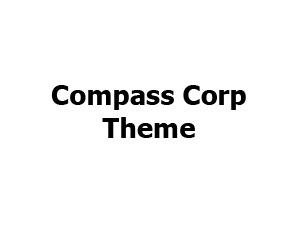 Best WordPress theme Compass Corp