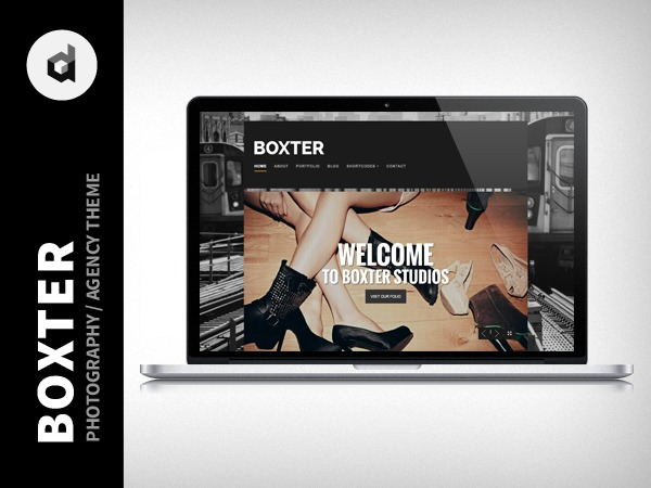 Boxter wallpapers WordPress theme