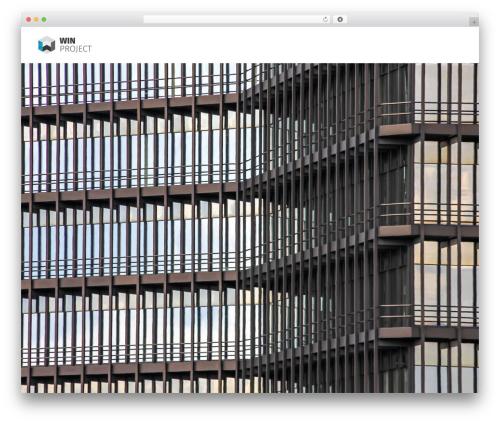 Bridge WP theme - win-project.be