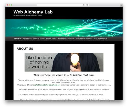 Catch Evolution theme WordPress free - webalchemylab.com
