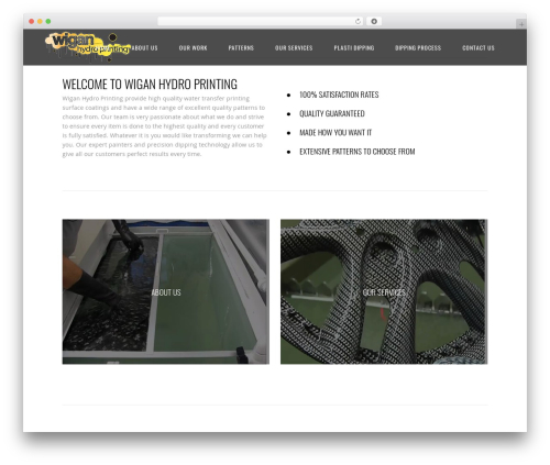 Central template WordPress free - wiganhydroprinting.co.uk
