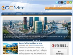 Comite WordPress blog template