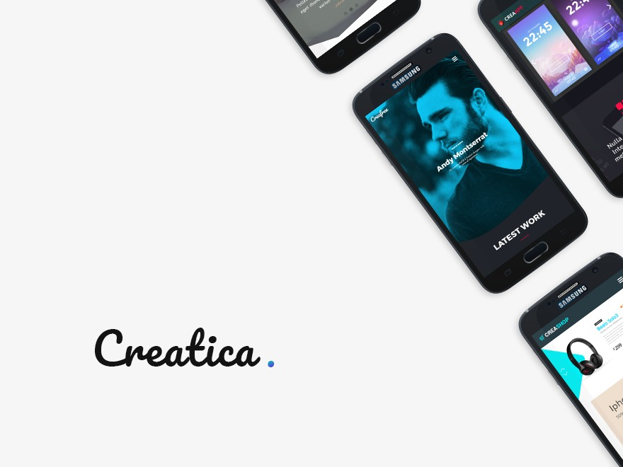 Creatica WordPress blog template
