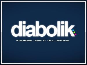 Diabolik company WordPress theme
