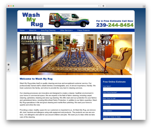 Free WordPress WP Customer Reviews plugin - washmyrug.com