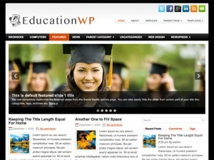 EducationWP WordPress blog template