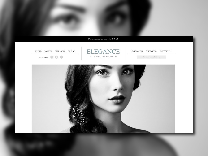 elegance Theme theme WordPress
