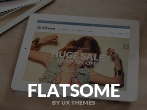Flatsome (shared on wplocker.com) WordPress shopping theme