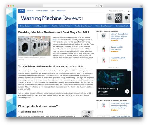 WordPress wp-coupons-and-deals-premium plugin - washingmachinereviews.co.uk