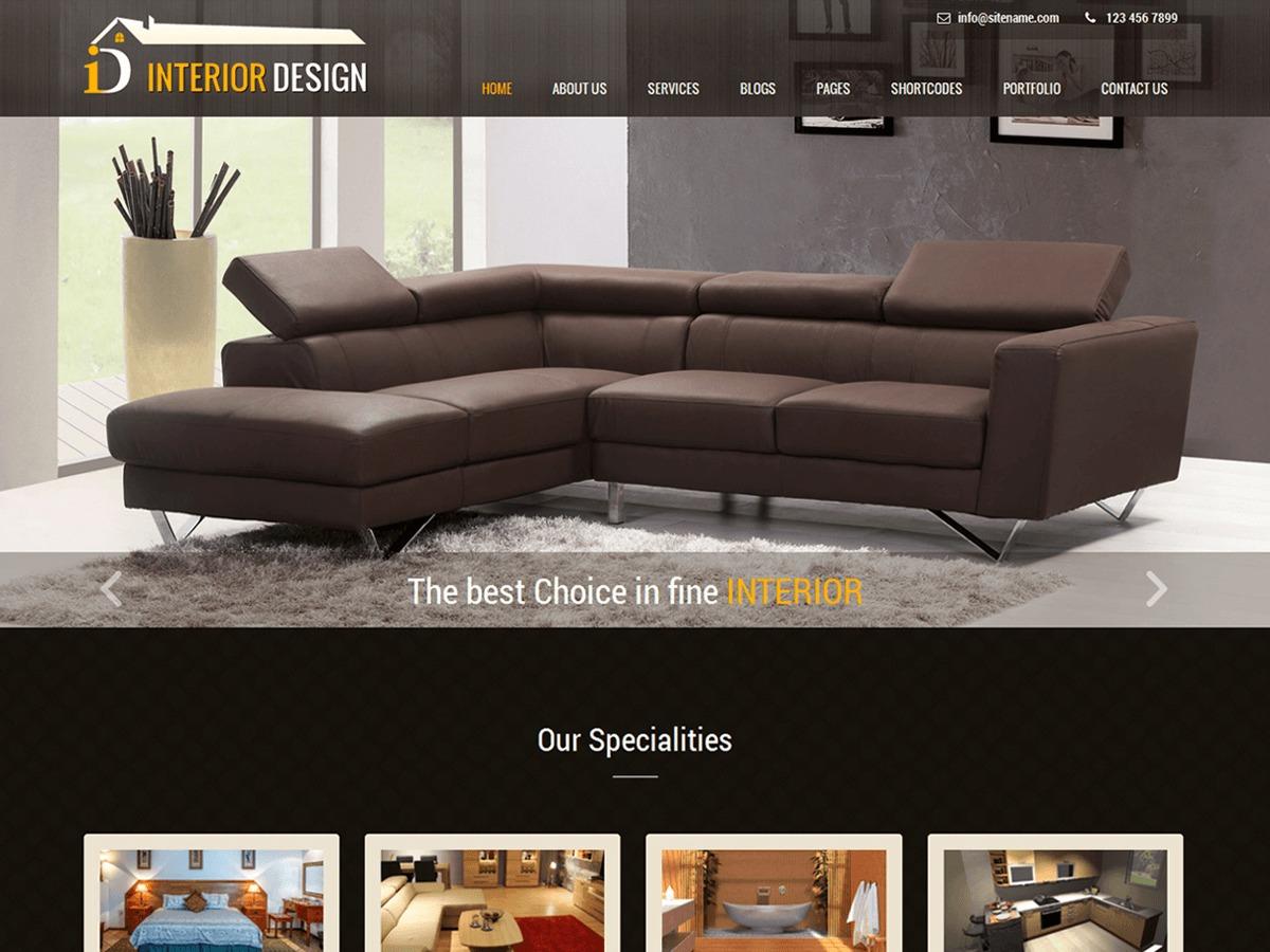 Interior Lite WordPress shop theme