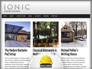Ionic WordPress theme