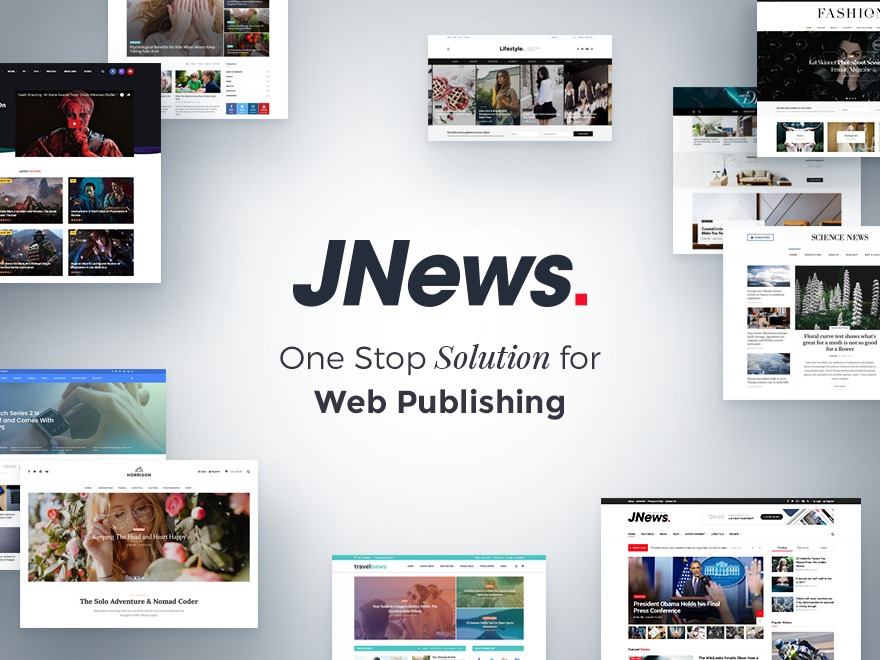 JNews WordPress news theme