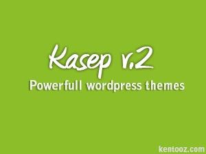 Kasep WordPress blog theme