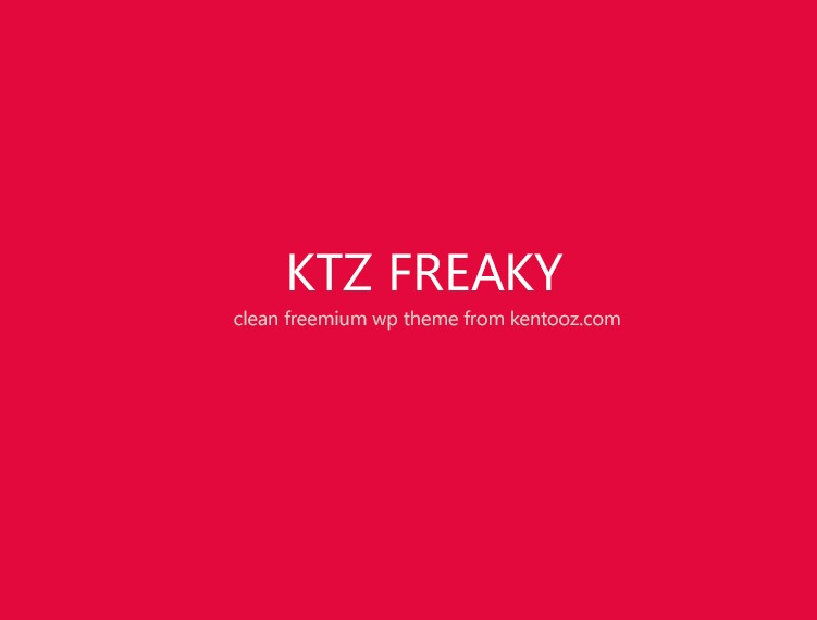 ktz freak WP template