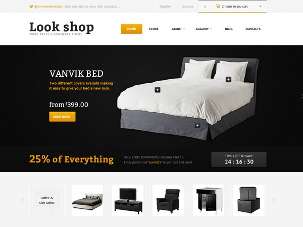 Lookshop best WooCommerce theme