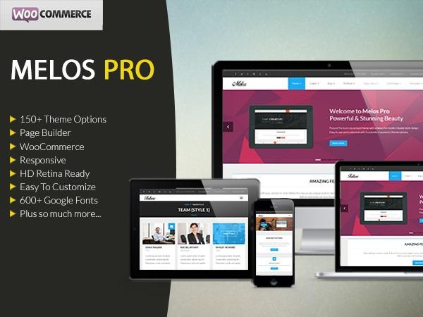 Melos Pro WordPress blog template