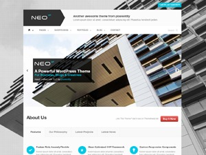 Neo WordPress theme