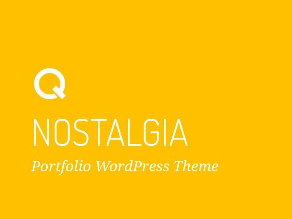 Nostalgia wallpapers WordPress theme