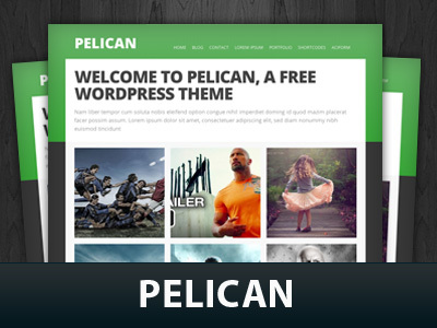 Pelican theme WordPress