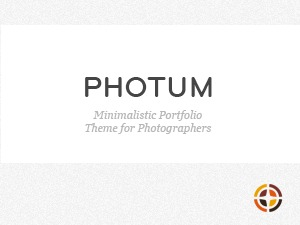 Photum theme WordPress