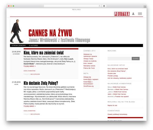 Free WordPress Cookies for Comments plugin - wroblewski.blog.polityka.pl