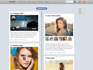 Postline best WordPress template