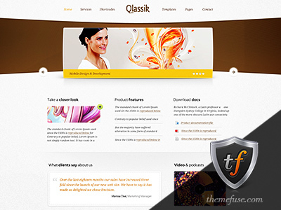 Qlassik Child best WordPress template