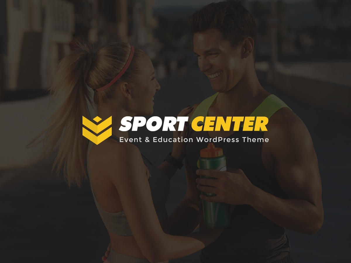 SportCenter gym WordPress theme