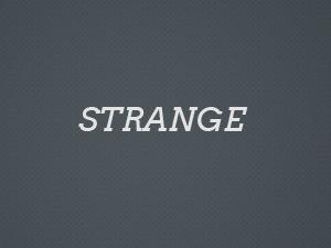 Strange best portfolio WordPress theme
