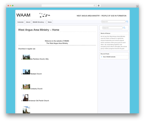 WordPress connections-rot13 plugin - waam.org.uk