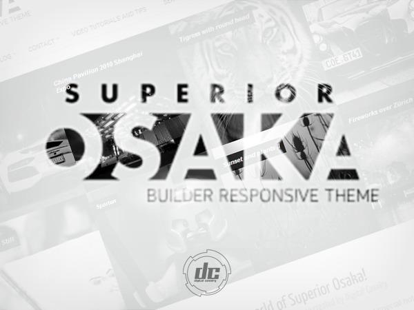 Superior Osaka WordPress Theme top WordPress theme