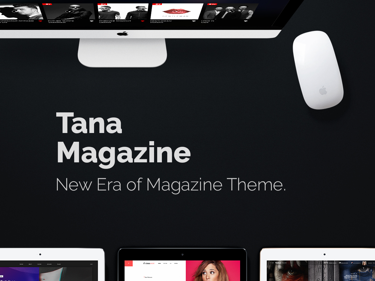 Tana best WordPress magazine theme