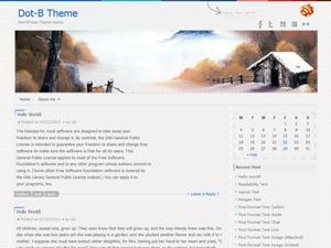 Template WordPress Dot-B