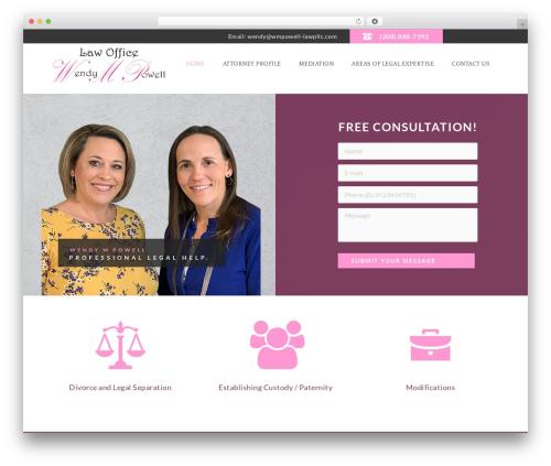 Template WordPress Law Office - wmpowell-lawpllc.com