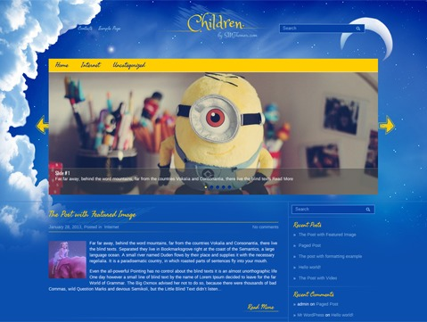 Theme WordPress Children