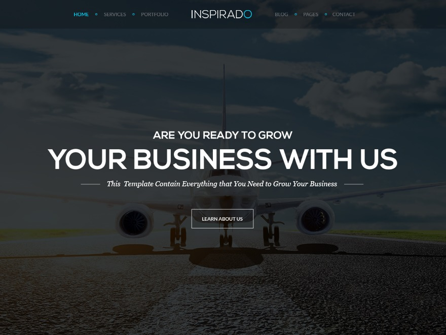 Theme WordPress Inspirado