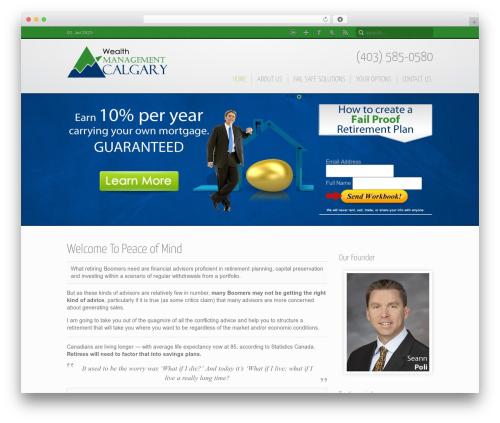 Theme WordPress Inspire - wealthmanagementcalgary.com