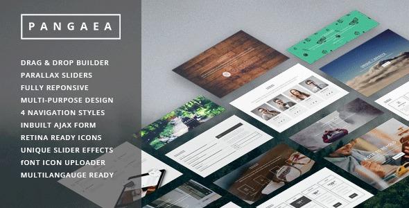 Theme WordPress Pangaea